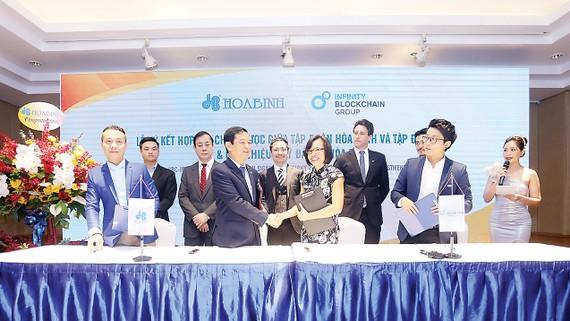 Hòa Bình ký kết hợp tác chiến lược với IBG