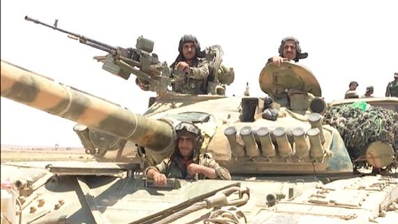 Quân đội Syria tiến vào thị trấn Tal Tamr, Đông Bắc Syria