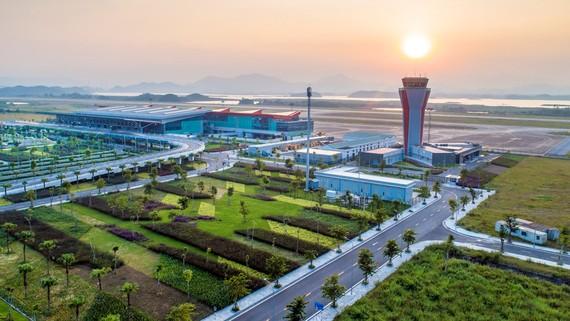 Toàn cảnh Sân bay quốc tế Vân Đồn