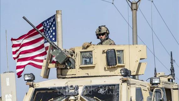 Xe quân sự của Mỹ. Ảnh: TTXVN