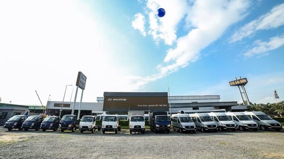 Toàn cảnh showroom Hyundai MPC Miền Đông