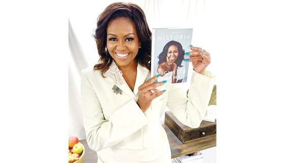 Bà Michelle Obama được đề cử giải Grammy