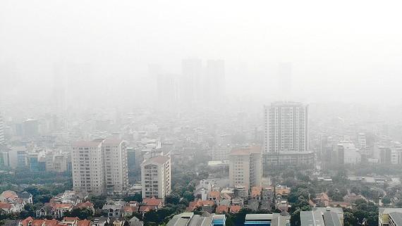 Tình trạng ô nhiễm ở Hà Nội đang ảnh hưởng tới sức khỏe người dân