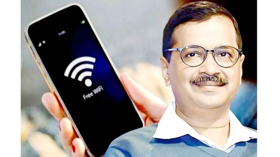 Thủ hiến New Delhi Arvind Kejriwal với tham vọng phủ sóng wifi miễn phí toàn thủ đô