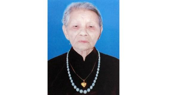 Bà mẹ Việt Nam anh hùng DƯƠNG THỊ NGUYỆT