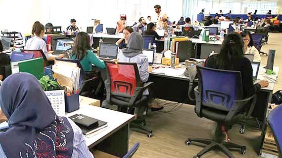 Một văn phòng làm việc tại Malaysia