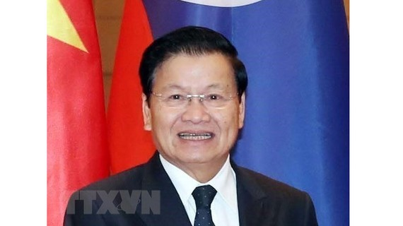 Thủ tướng Lào Thongloun Sisoulith. Ảnh: Trọng Đức/TTXVN