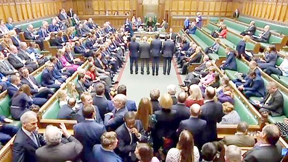 Phiên thông qua thỏa thuận Brexit tại Hạ viện ngày 9-1