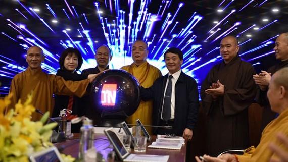 Khai trương Trung tâm điều hành điện tử Giáo hội Phật giáo Việt Nam. Nguồn: daidoanket.vn