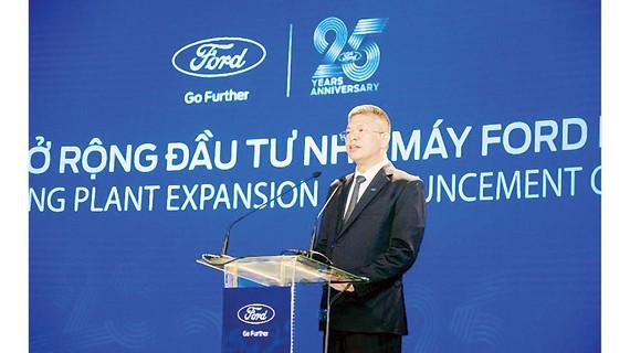 Ông Phạm Văn Dũng - Tổng Giám đốc Ford Việt Nam