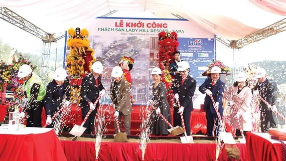 Hòa Bình khởi công dự án Lady Hill Resort - Sapa