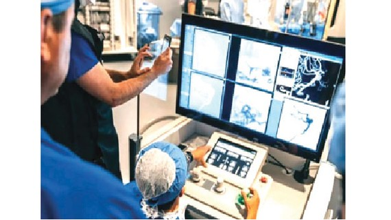 Robot phẫu thuật não
