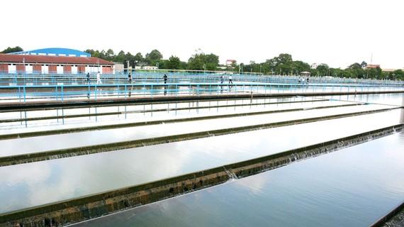 Bể chứa nước tại Nhà máy nước Thủ Đức