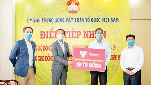 Heineken Việt Nam ủng hộ 10 tỷ đồng cho công tác phòng chống dịch Covid-19