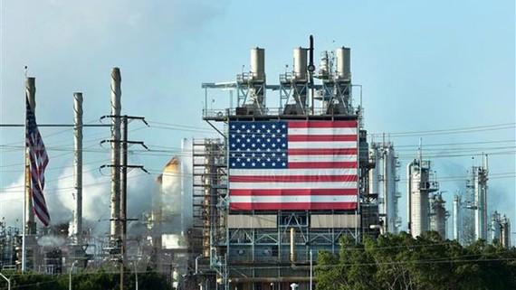 Cơ sở lọc dầu Wilmington của Mỹ ở Los Angeles, California. Nguồn: TTXVN