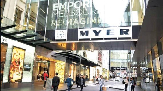 Trung tâm mua sắm Myer ở Melbourne, Australia mở cửa trở lại sau Covid-19