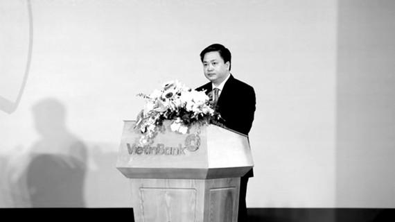 Ông Lê Đức Thọ, Chủ tịch HĐQT VietinBank phát biểu khai mạc tại Đại hội