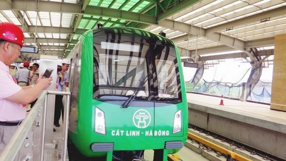 Đường sắt Cát Linh - Hà Đông: Hơn 5.700 chuyến tàu chạy thử an toàn