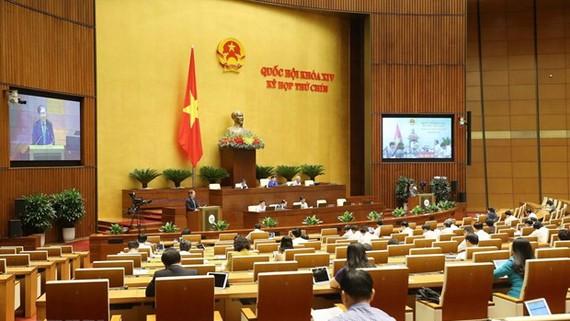 Quang cảnh phiên họp của Quốc hội. Ảnh: Doãn Tấn/TTXVN