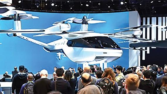 """Hàn Quốc phát triển mô hình """"taxi bay"""""""