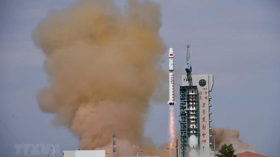 Một trung tâm phóng vệ tinh của Trung Quốc. Ảnh: TTXVN