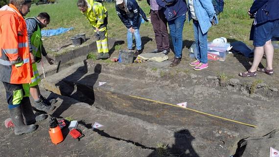 Na Uy khai quật xác tàu Viking sau hơn 1 thế kỷ