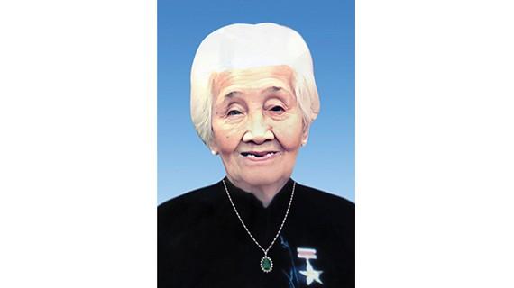 Bà mẹ Việt Nam anh hùng NGUYỄN THỊ CHÍNH