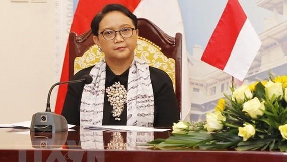 Ngoại trưởng Indonesia Retno Marsudi. Ảnh: Lâm Khánh/TTXVN