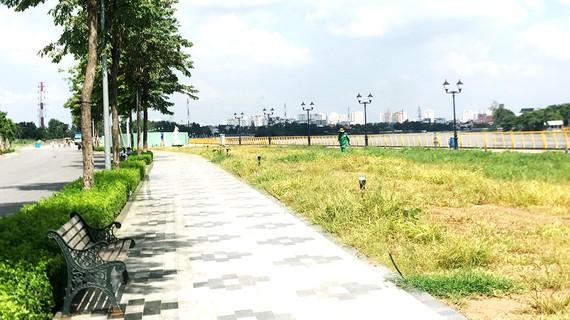 Công viên trên hành lang sông Sài Gòn do công ty tư nhân đầu tư