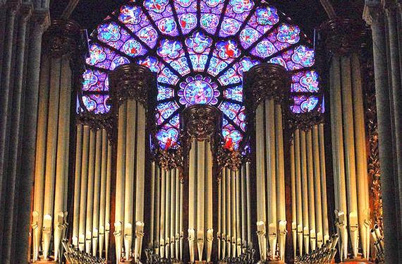 Pháp phục hồi đàn organ ống ở Nhà thờ Đức Bà