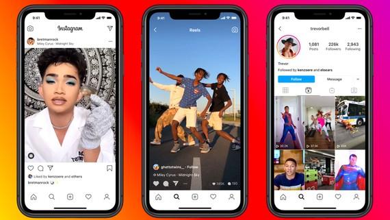 Instagram cạnh tranh TikTok