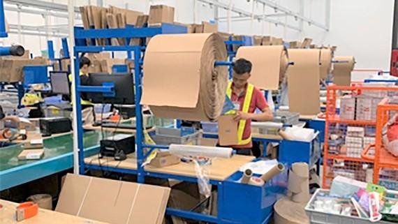 Vật liệu giấy được nhiều doanh nghiệp sử dụng thay thế túi ni lông để bảo vệ môi trường