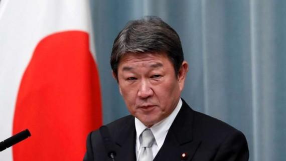 Ngoại trưởng Nhật Bản Toshimitsu Motegi. Nguồn: Reuters