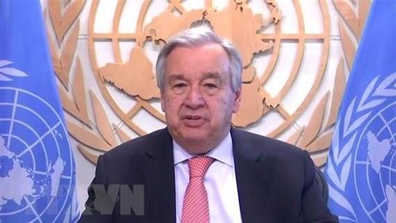 Tổng Thư ký Liên hợp quốc Antonio Guterres. Nguồn: THX/TTXVN