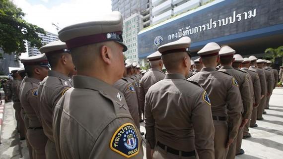 Lực lượng cảnh sát Thái Lan. Nguồn: bangkokpost