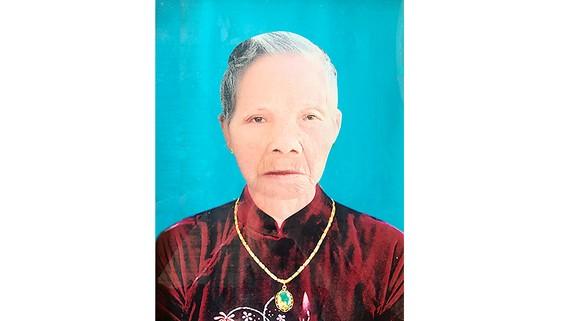 Bà Mẹ Việt Nam Anh hùng VÕ THỊ HANH