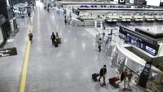 Sân bay Narita ở tỉnh Chiba, Nhật Bản. Nguồn: Kyodo/TTXVN