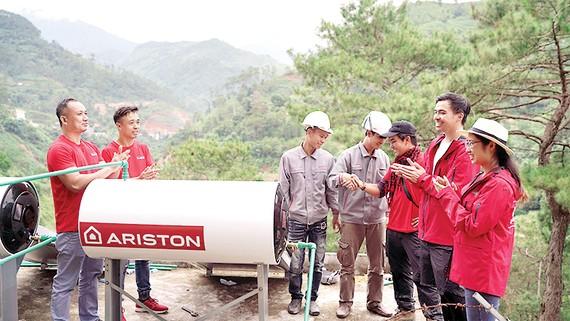 Ariston mang sự ấm áp tới Hà Giang