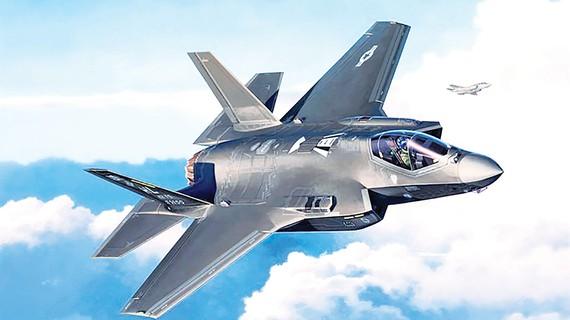 Máy bay tàng hình F35 do Lockheed Martin sản xuất, một trong những vũ khí xuất khẩu chủ lực của Mỹ