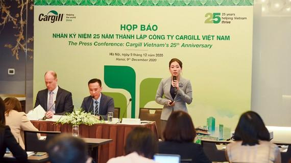 Họp báo Kỷ niệm 25 năm thành lập Cargill Việt Nam