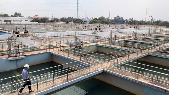 Nhà máy nước Tân Hiệp, huyện Hóc Môn, TPHCM. Ảnh: PHAN LÊ
