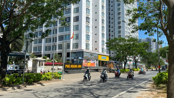 Chung cư Phú Hoàng Anh, nơi xảy ra vụ việc