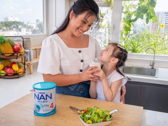 Nestlé nan giới thiệu Nan Optipro 4 mới