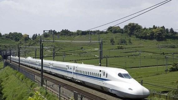 Dự án tàu cao tốc của Ấn Độ với vốn đầu tư từ Nhật Bản. Ảnh: DNA India