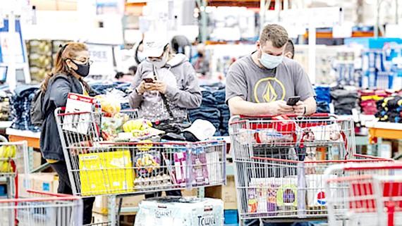 Chi tiêu tiêu dùng tại Mỹ được kỳ vọng tăng mạnh