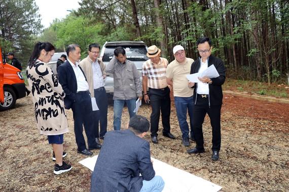 Đoàn tham quan một số dự án trên địa bàn tỉnh Lâm Đồng