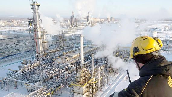 Nhà máy lọc dầu tại Samara, Nga