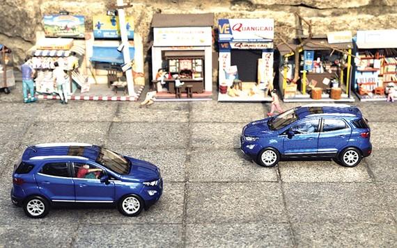 """Tái hiện Ford EcoSport thời dịch Covid-19 dưới ống kính của NAG Lân """"Xe Lăn"""""""
