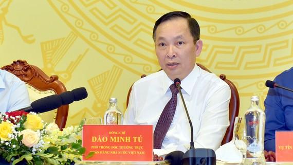Phó Thống đốc NHNN Đào Minh Tú. Ảnh: VGP