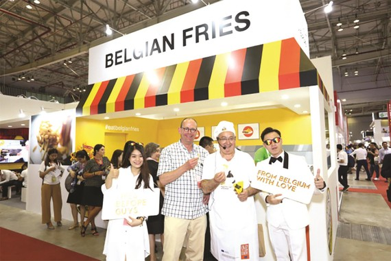 Khoai tây của Bỉ mở rộng thị phần ở Việt Nam